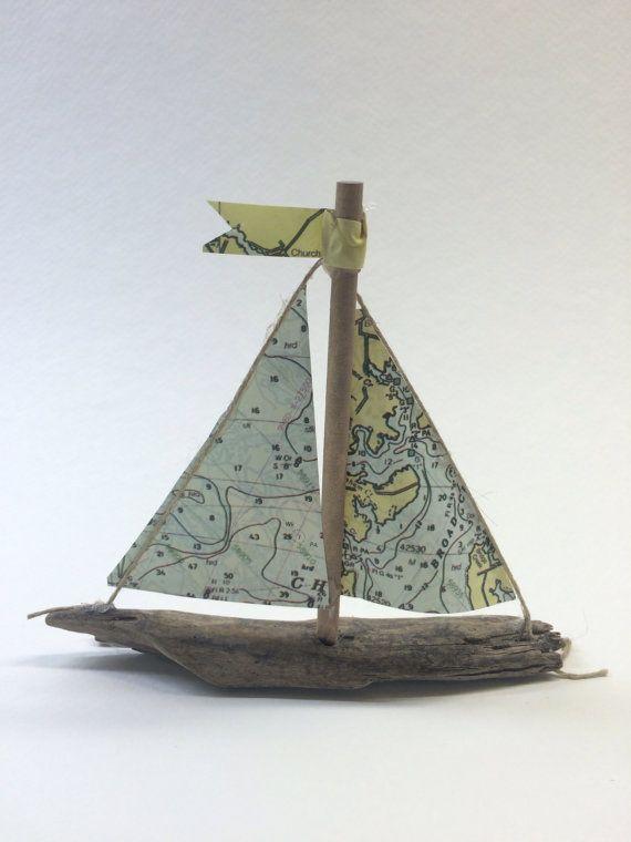 Nautical Chart Ornament miniature