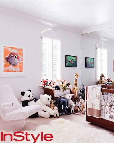 Rachel Zoe S Nursery Room Kids Room Organization Kids Bedroom