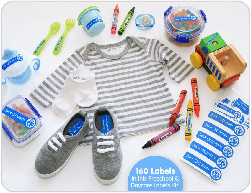 Label Your Baby And Toddlers Belongings For Preschool And Daycare