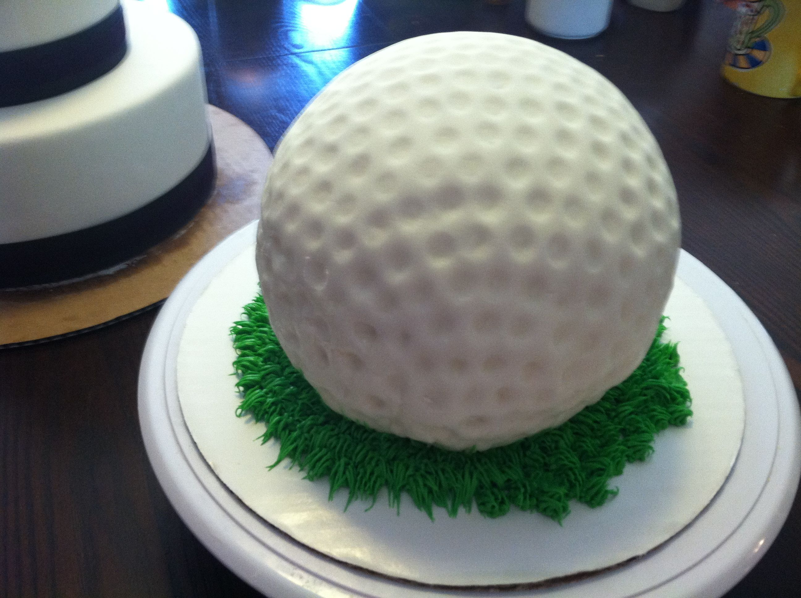 Golf Ball Grooms Cake Cakes By Eron Cake Golf Party
