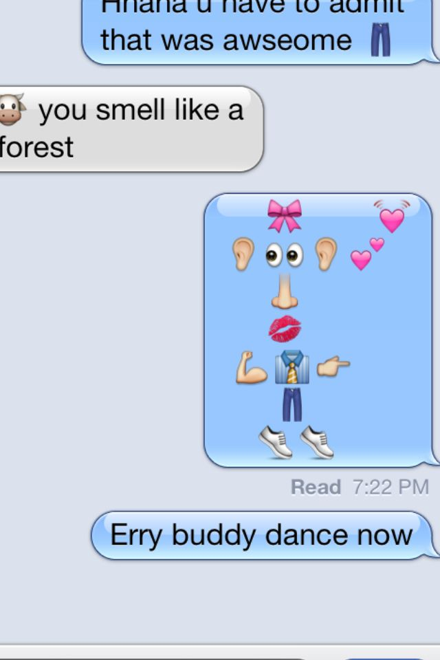 you know you want to text someone now  lol emoji