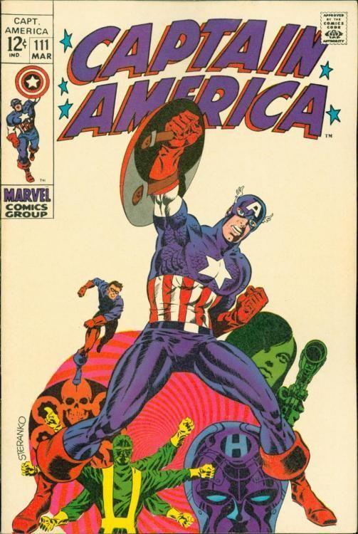 CAPTAIN AMERICA #111 [1968] HIGH GRADE[9.2]