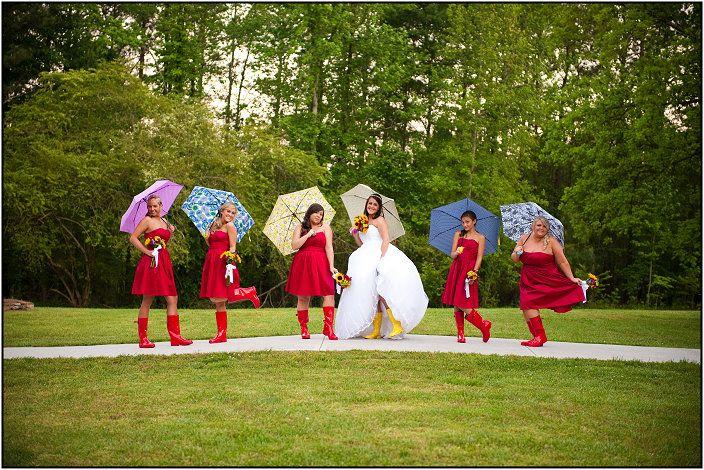 Bridesmaids Paris Mountain Photography red bridesmaids dresses. McGarity House