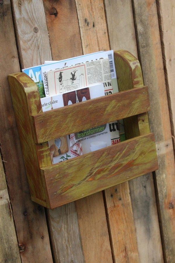 Un meuble pas cher et original en bois de récupu0027 Construction