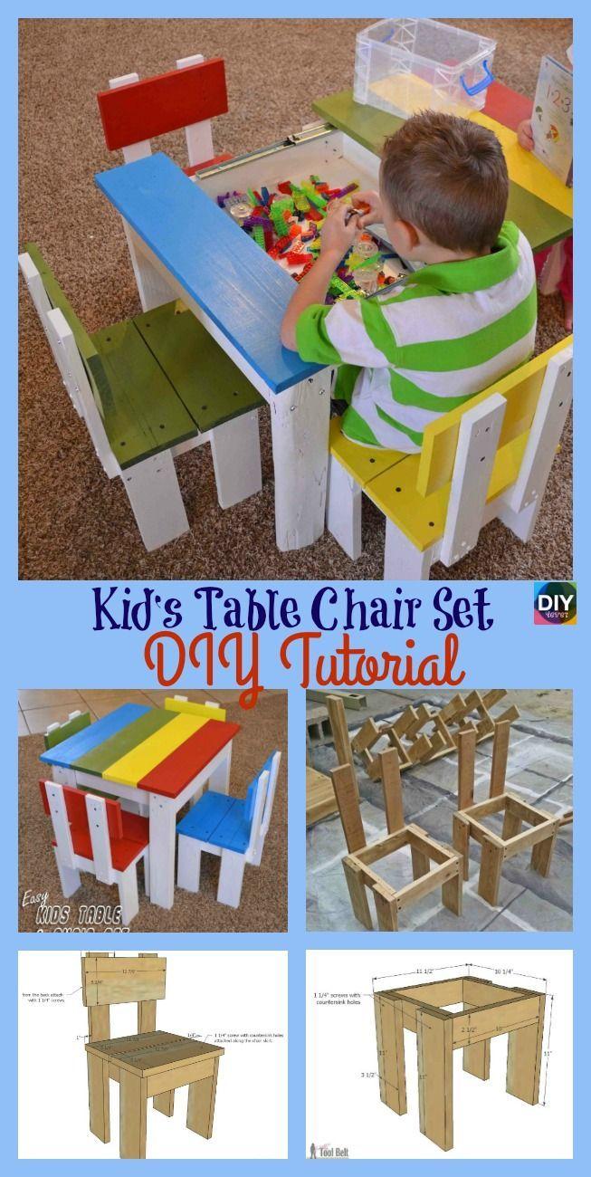 Table Et Chaises Enfants En 2020 Table Et Chaise Enfant Chaise Enfant Diy Enfant