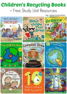 Childrens books about recycling
