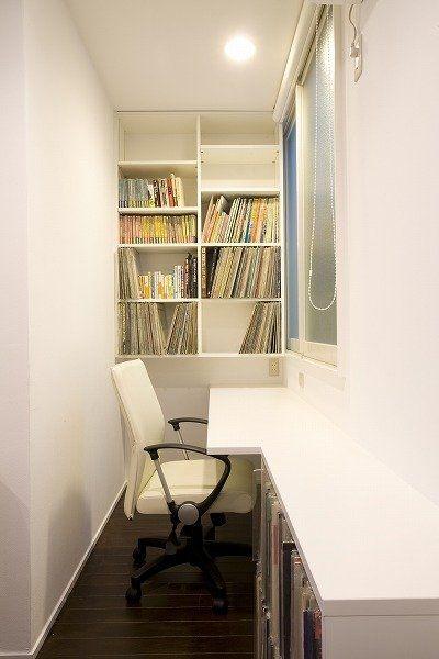 狭いからこそ落ち着く 書斎は大人の秘密基地 Suvaco スバコ ミニマリストルーム 家 自宅で