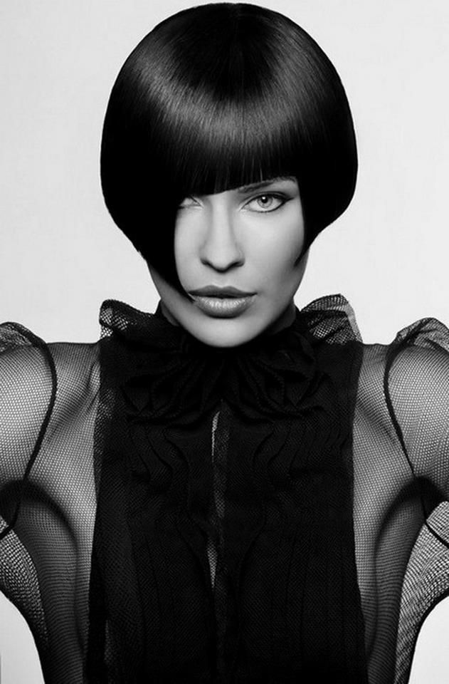 Vidal Sassoon would LOVE this great Precision cut.