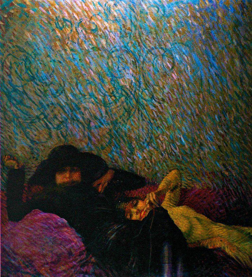 Le amiche, 1913Aleardo Terzi (Palermo, 1870 – Castelletto sopra Ticino, 1943) 10690026_558098140982671_9127034180916535715_n.jpg (874×960)