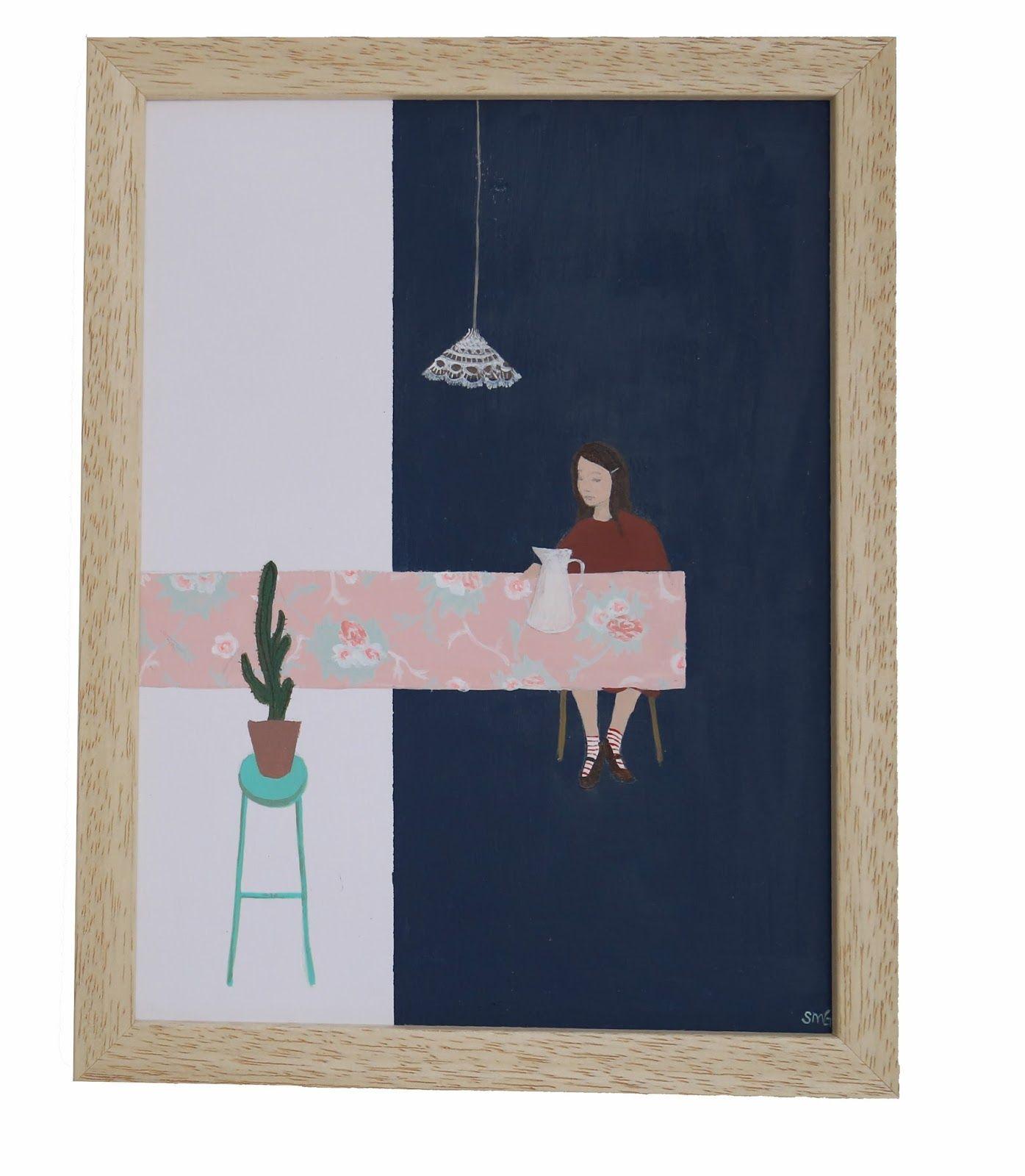 saar manche painting peinture pinterest peinture illustration et painting. Black Bedroom Furniture Sets. Home Design Ideas
