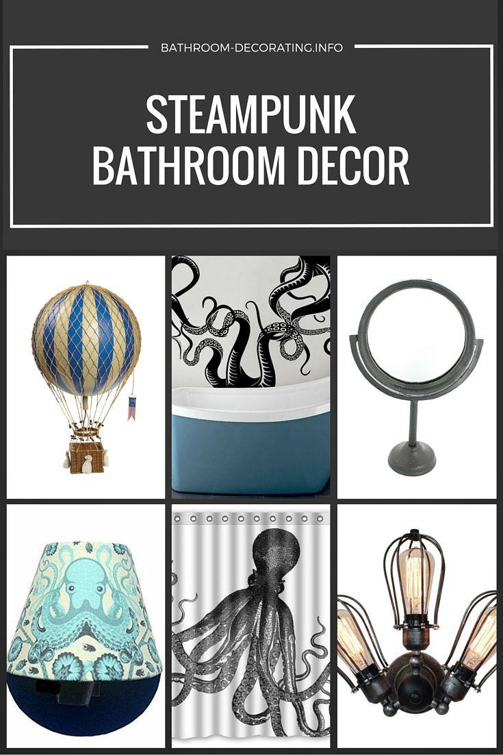 Steampunk Bathroom Decor | Steampunk bathroom decor, Steampunk ...