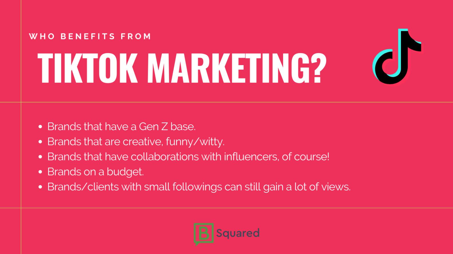 Tiktok Marketing In 2021 Infographic Marketing Marketing Social Media Marketing