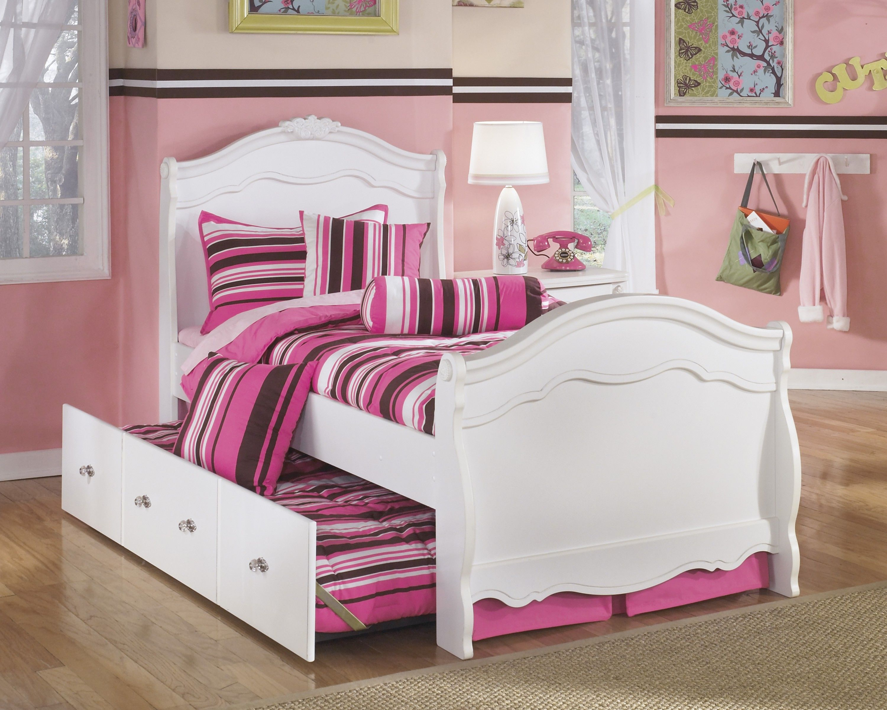 Twin Sleigh Bed Diana Exquisite Twin Sleigh Storage Bed By