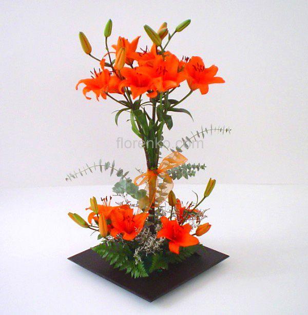 Florenko floreria en mexico df envio de arreglos for Plantas decorativas artificiales df