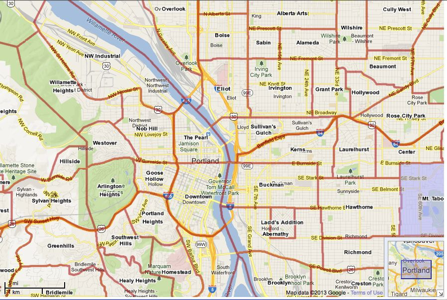 Portland Or Zip Code Map Portland Zip Code Map | Portland neighborhoods, Map, Zip code map