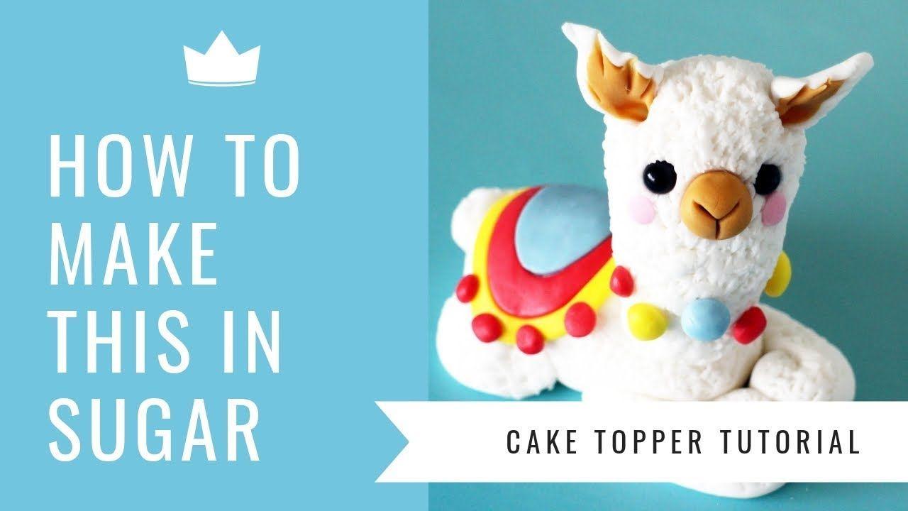 Baby llama cake topper cake dutchess tutorial youtube