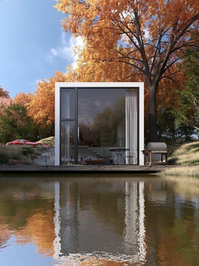 Maison Avec Container container house - le minimalisme en architecture, une jolie maison