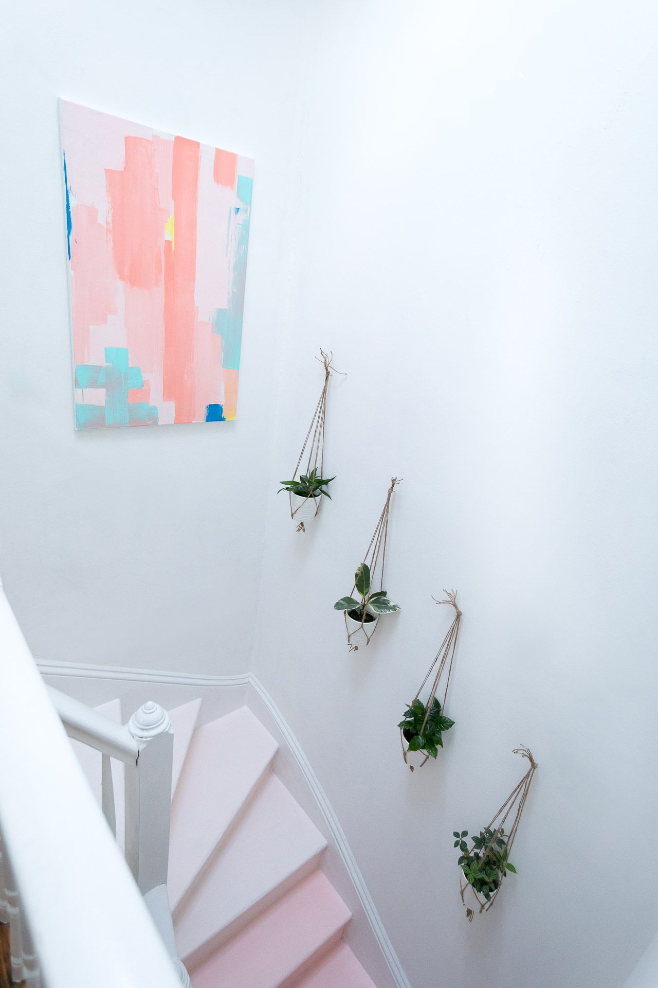 Teal hallway ideas  One Room Challenge Final Reveal of The Hallway Refresh  Staircase