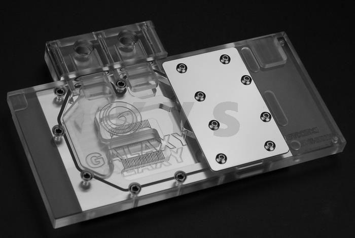 Bykski N Gy96bk X Vga Water Cooling Block Transparent Top For