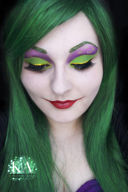joker makeupkatiealves on deviantart | awsome | pinterest