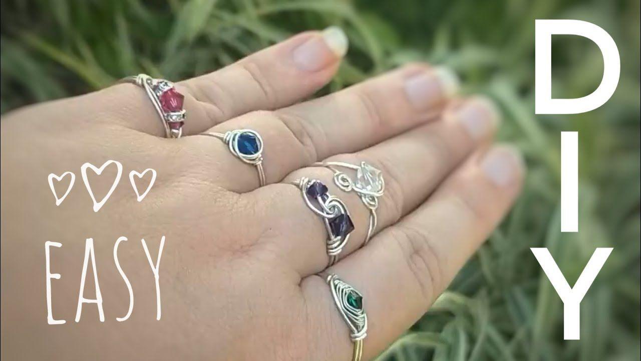 5 easy ways to diy wire wrap crystal rings beginners
