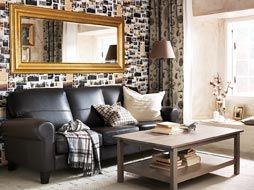 Soggiorno Ikea Hemnes : Combine and contrast living room pinterest arredamento
