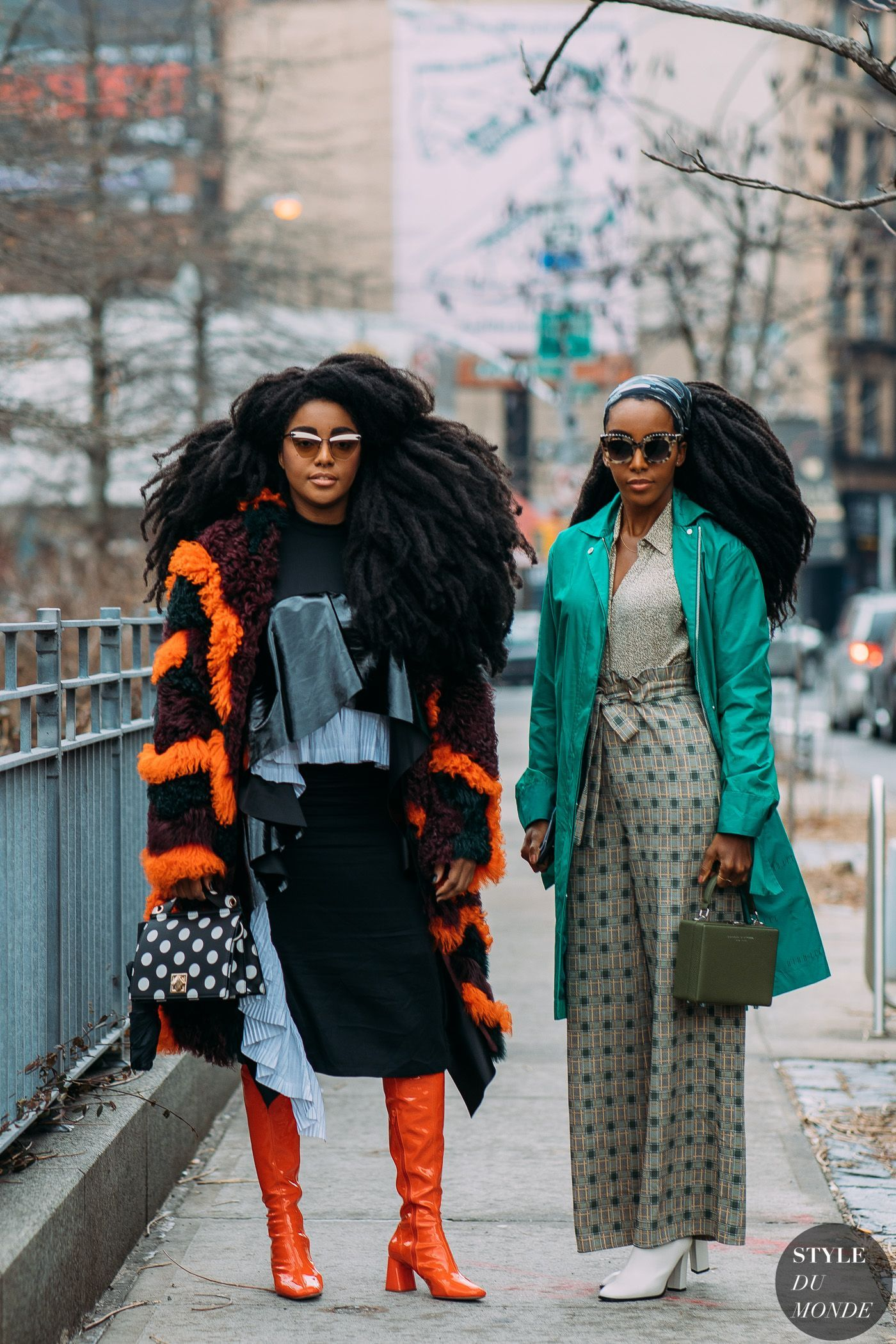 f2274ca71b9a TK Wonder and Cipriana Quann by STYLEDUMONDE Street Style Fashion  Photography NY FW18 20180210 48A4989