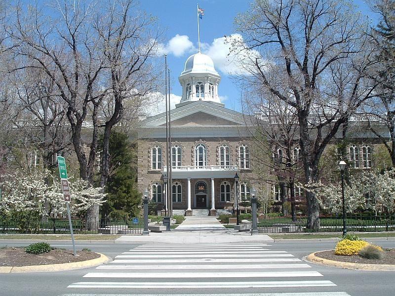 Nevada Capital Building Carson City Nevada Joseph Gosling