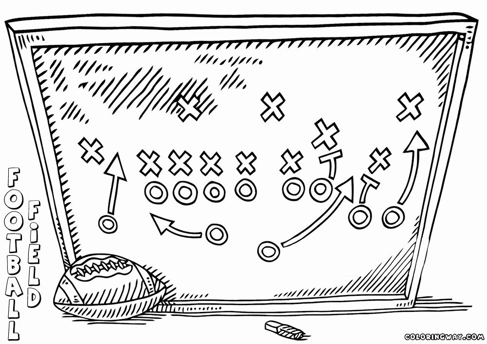 Football Field Coloring Page New Football Field Coloring Pages Coloring Pages Football Field Color