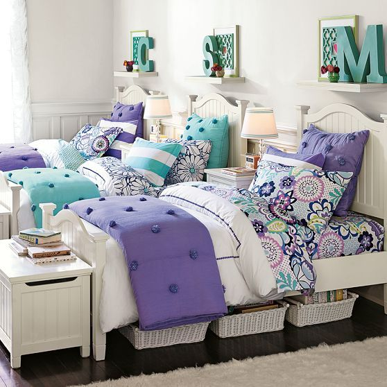 Beadboard Curved Headboard Bed Trundle With Images Girls