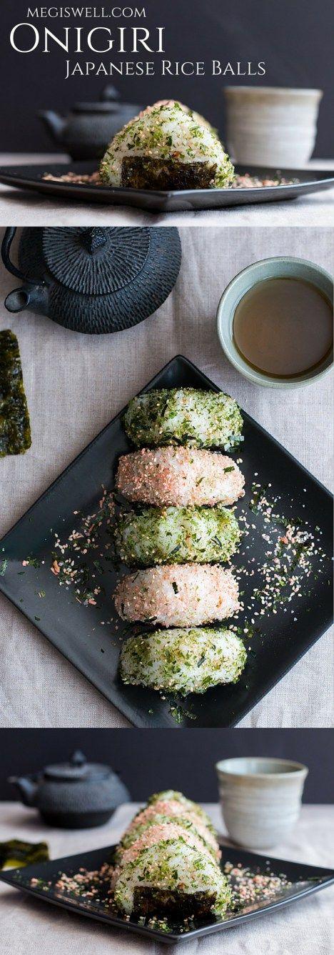 Onigiri Japanese Rice Balls Meg Is Well Recipe Recipes Food Rice Balls