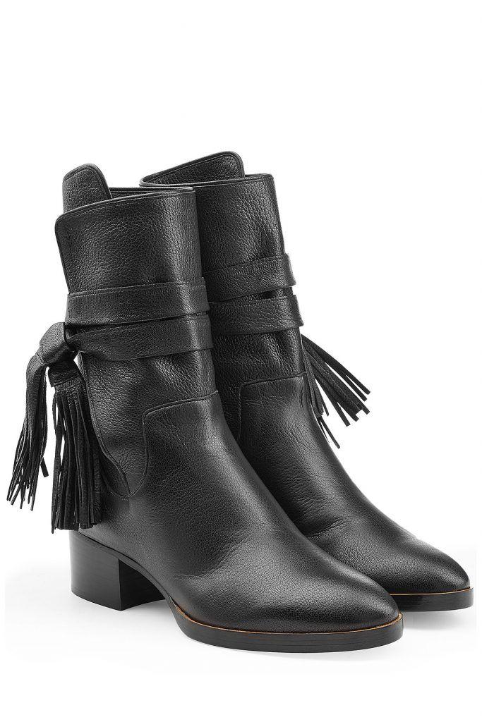 Ankle BootsTreasure Schwarze Lederstiefel Chloe Chloe BootsTreasure Schwarze BootsTreasure Ankle Lederstiefel Chloe Ankle Schwarze 3lJTF1cK