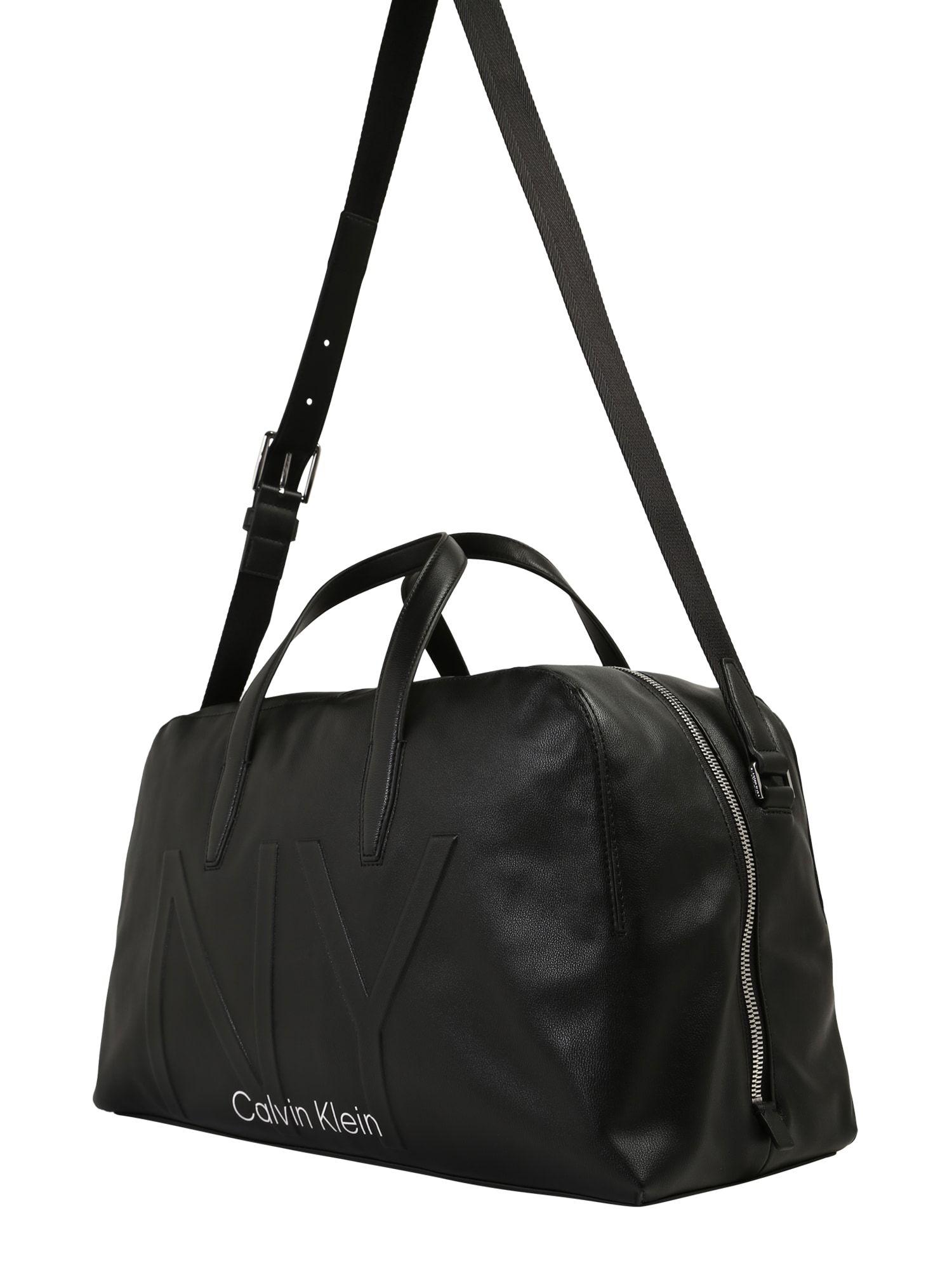 Calvin Klein Tasche Ny Shaped Large Duffle Herren Schwarz Grosse One Size Calvin Klein Taschen