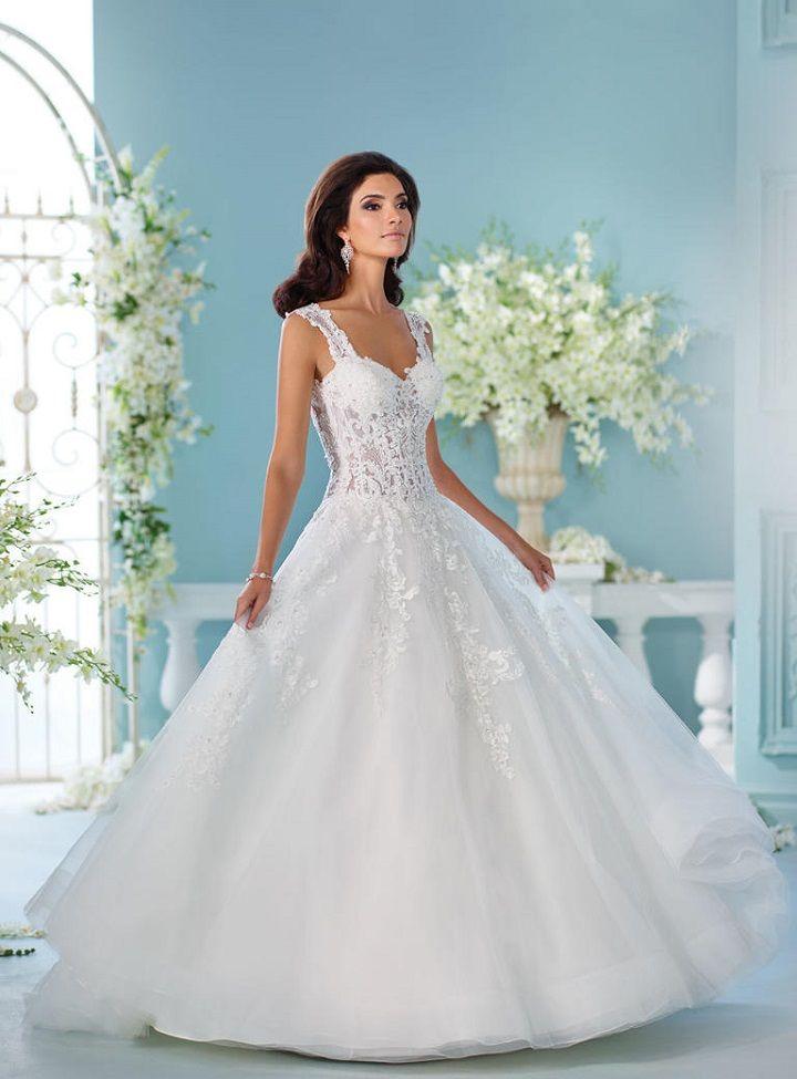 David tutera spring 2017 wedding dresses fairytale for David tutera wedding dresses