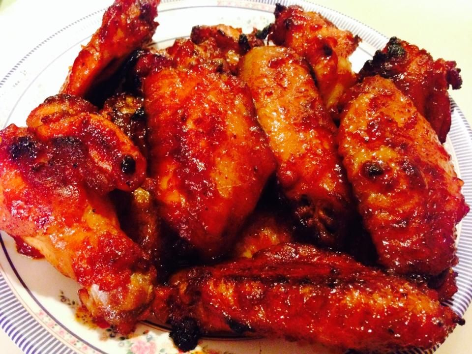 Sweet and Spicy Sriracha Hot Wings | Hmong Recipes | Hmong ...
