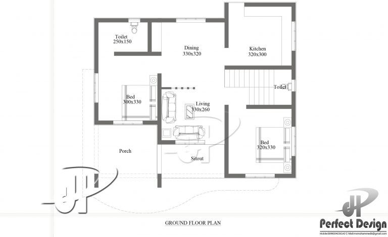 Beautiful House Plan Designed To Be Built In 75 Square Meters Myhomemyzone Com Home Design