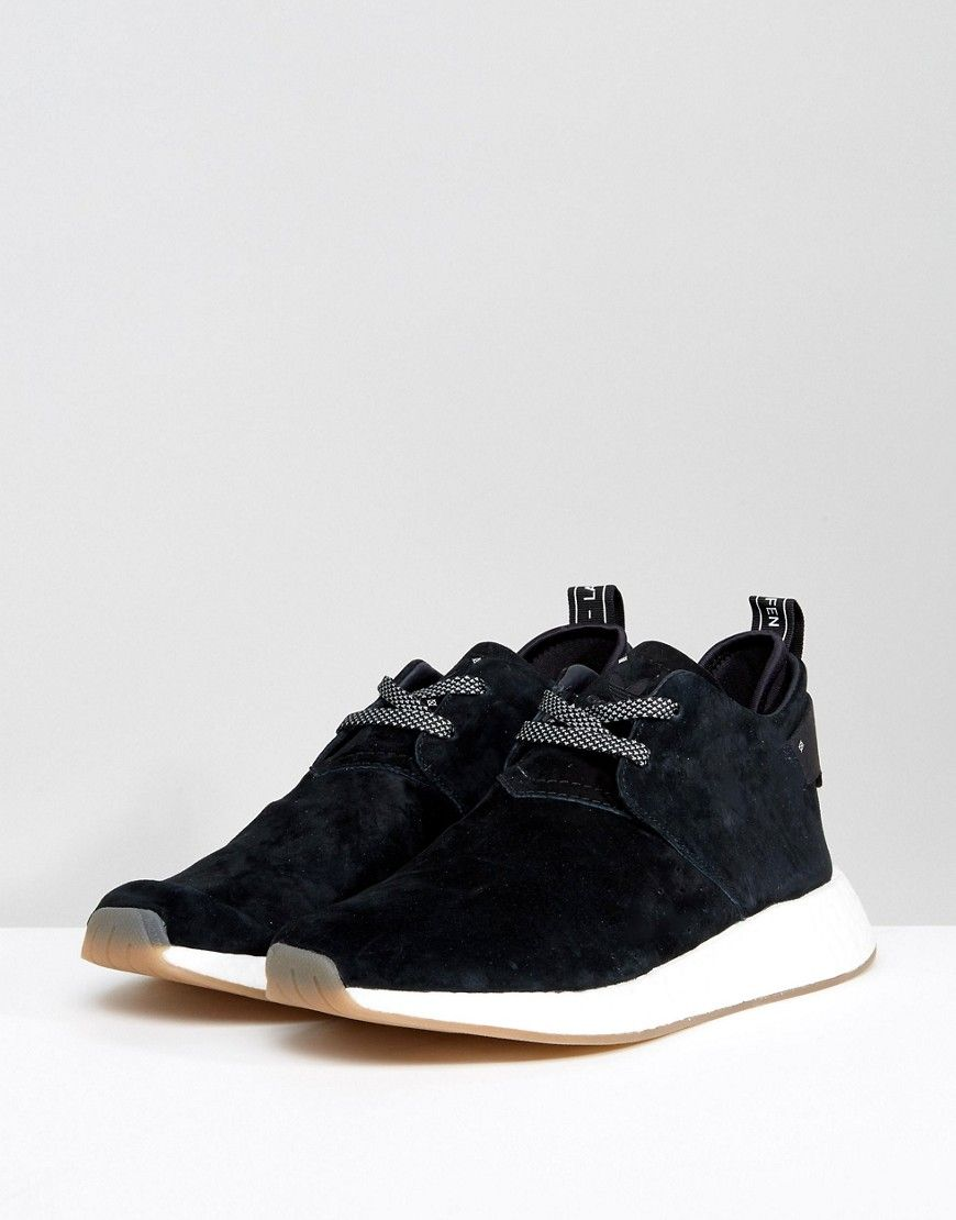 adidas originals nmd c2 sneakers in schwarz by3011 schwarze nmd