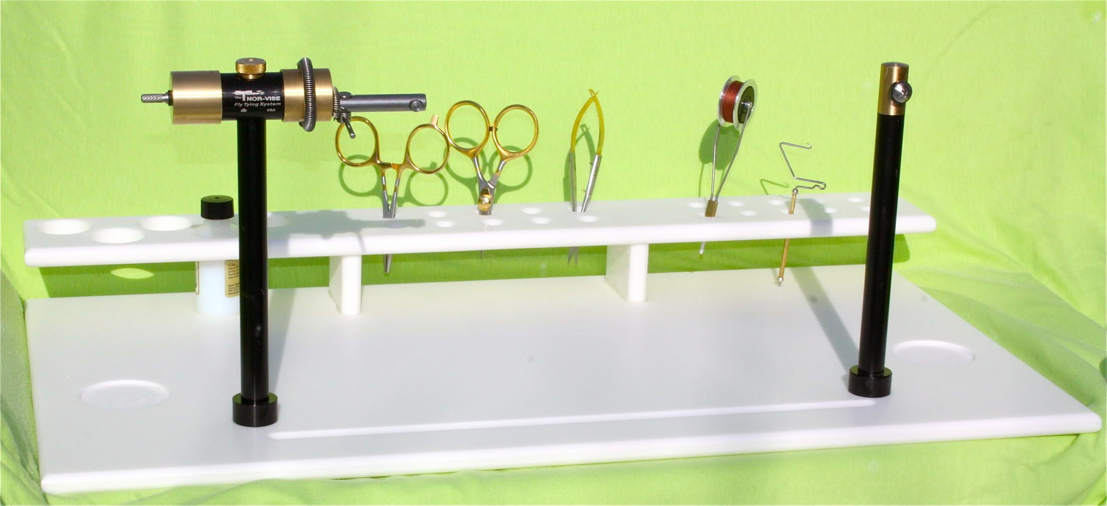 free fly tying station plans | made a few of these for myself. with
