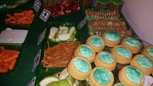 Mine craft foods
