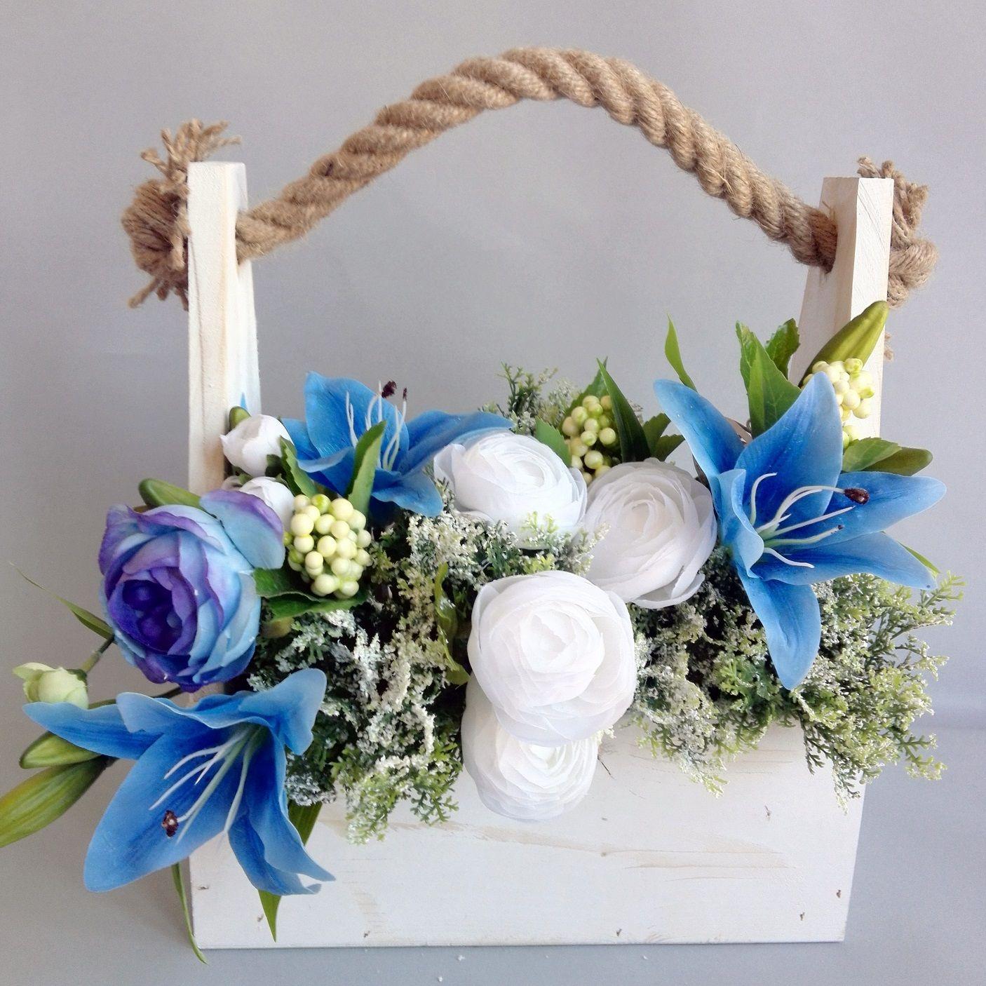 Drewniana Skrzynka Z Kwiatami Flower Boxes Floral Arrangements Good Morning Flowers
