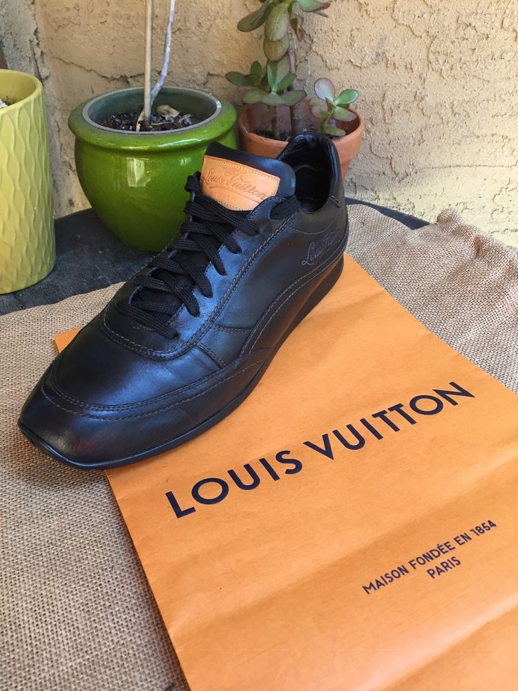 0373c96fba2a AUTH LOUIS VUITTON MENS SHOES SNEAKERS US SIZE 10 MADE IN ITALY  fashion   clothing