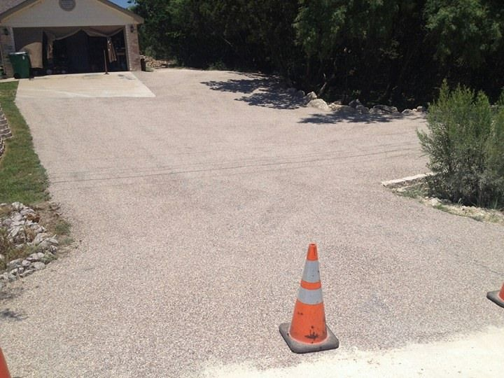 New tar and chip seal driveway in austin texas near lakeway tx new tar and chip seal driveway in austin texas near lakeway tx texan paving solutioingenieria Image collections