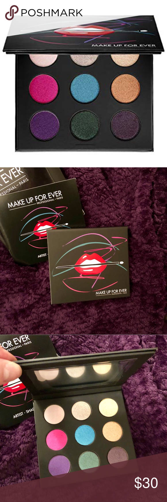 Makeup Forever Eyeshadow Palette 2 Brand new in box, never