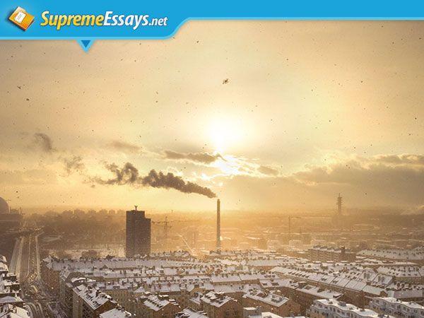 Simple essay on environmental pollution