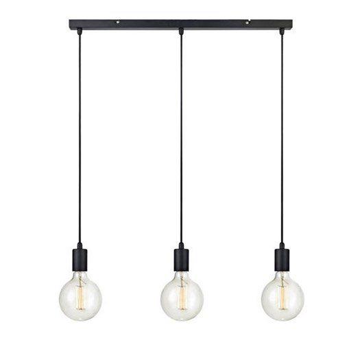 Suspension Scandinave Sky Metal Noir 3 X 60 W Markslojd Eclairage Cuisine Lampe De Plafond Metal Noir