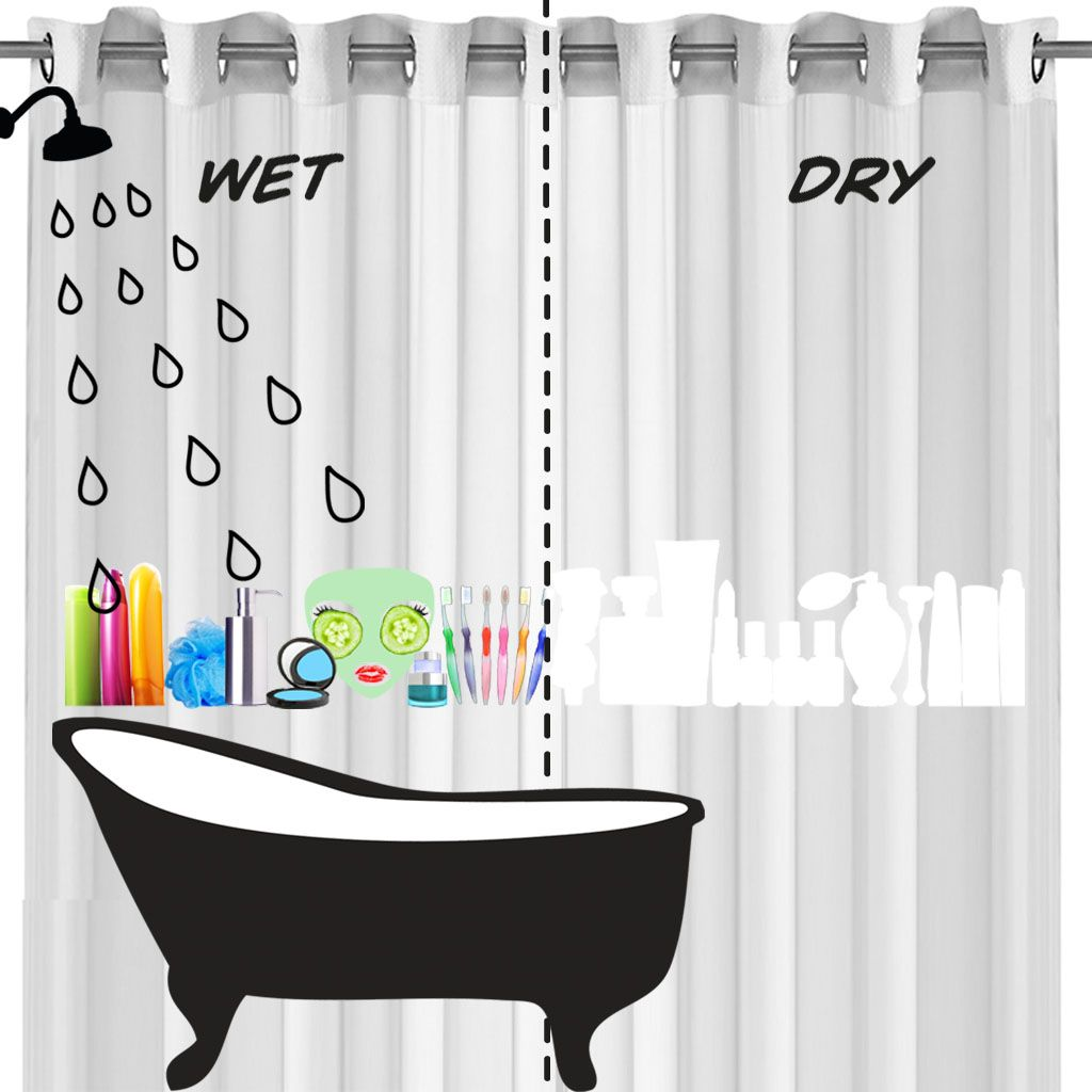 Colour Changing Shower Curtain Squidlondon Funny Shower