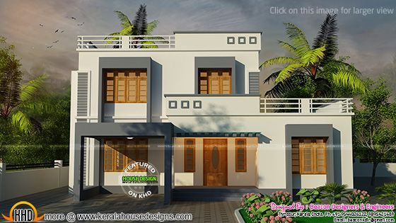 Awesome Flat Roof Modern