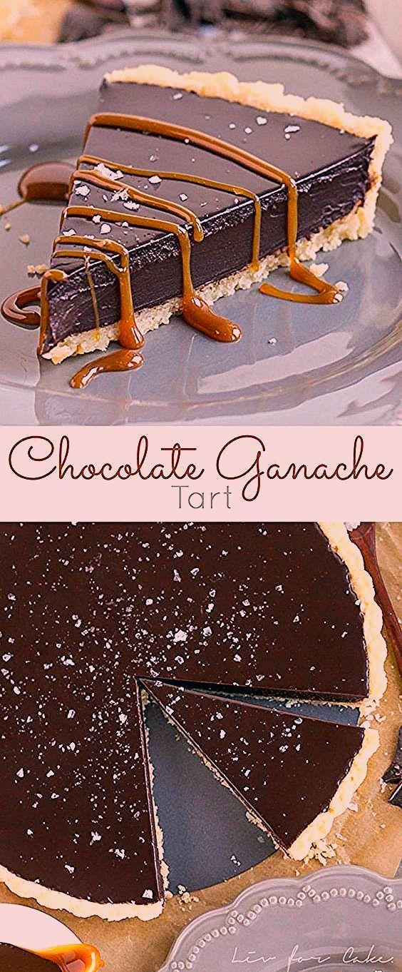 Photo of Dark Chocolate Ganache Tart
