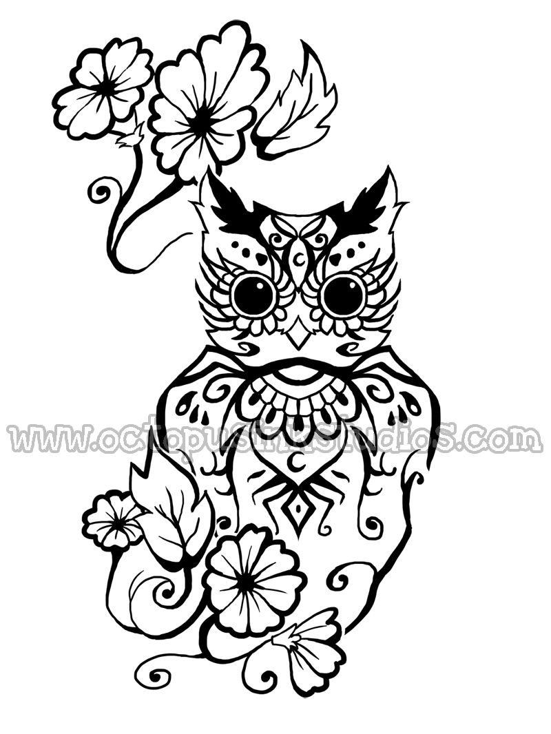 Owl Tattoo Designs Art Owl tattoo design | Owls | Pinterest | Owl