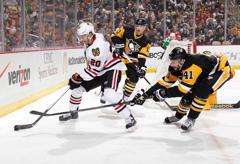1/21 Blackhawks beat Penguins 3-2 in SO, now 30-15-2